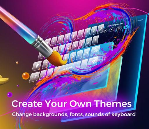 Cheetah Keyboard - Type less, say more! screenshot 4