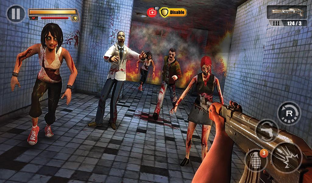 Infected House: Zombie Shooter Screenshot 13