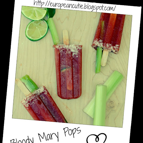 Bloody Mary Pops ♥