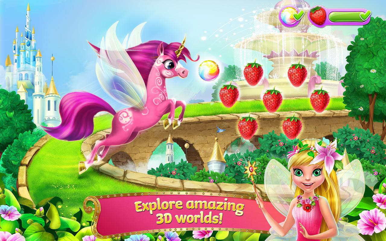 Princess Fairy Rush Screenshot 3
