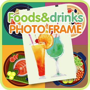 Download Foods and drinks photo frame For PC Windows and Mac