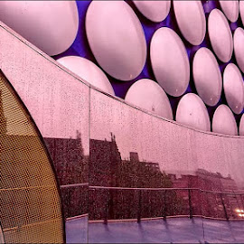 Bullring reflections by Stephen Lang - City,  Street & Park  Markets & Shops
