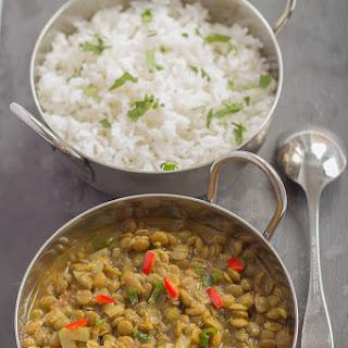 Vegetarian Green Lentil Dahl Recipes