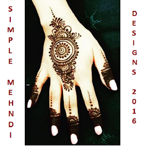 Simple Mehndi Designs - 2016