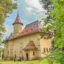 Old church by Radu Eftimie - Buildings & Architecture Places of Worship ( suceava, old church of new st john, romania )