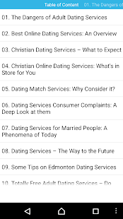 Audiobook - Dating Services - screenshot