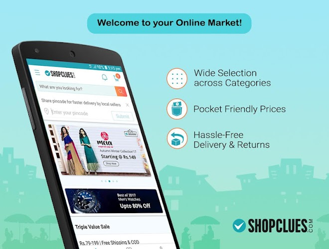 ShopClues: Online Shopping App Android App Screenshot