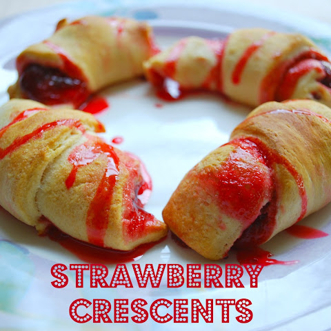 Strawberry Crescents