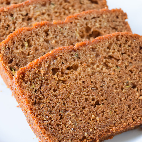Honey-Sweetened Zucchini Bread