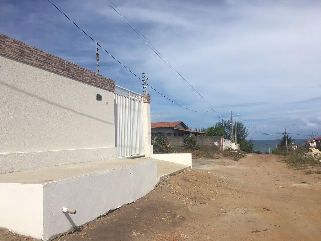 Casa com 3 dormitórios à venda, 115 m² por R$ 250.000,00 - Praia do Amor - Conde/PB