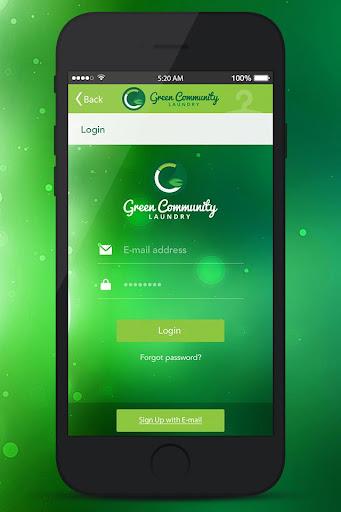 Green Community Laundry screenshot 2