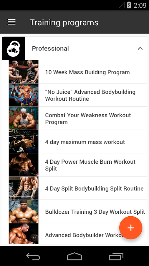 Gym App Training Diary Pro Screenshot 0