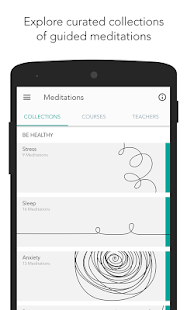 Meditation Studio Fitness app screenshot for Android