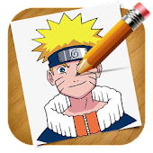 App Learn How to Draw Naruto APK for Kindle