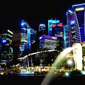 Merlion Park by Imam Fauzi - City,  Street & Park  Vistas