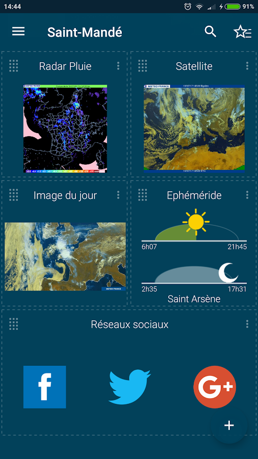 Météo-France Screenshot 2