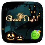 Ghost Night GO Keyboard Theme 4.15 Apk