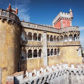 Pena Palace, Sintra by Paweł Mielko - Buildings & Architecture Public & Historical ( pena palace, sintra, lisbon, portugal, buildings, historical, palacio, architecture )