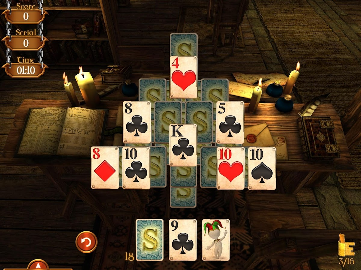 Solitaire Dungeon Escape Screenshot 8