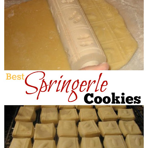 Best Springerle Cookie Recipe - German Anise Cookies