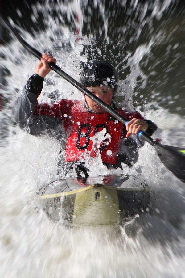 Blam! by Peter Parker - Sports & Fitness Watersports ( paddles, spray, slalom, power, kayak, white water )