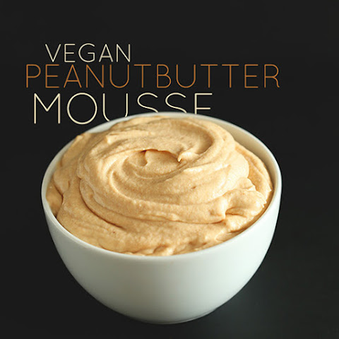 3 Ingredient Peanut Butter Mousse Frosting