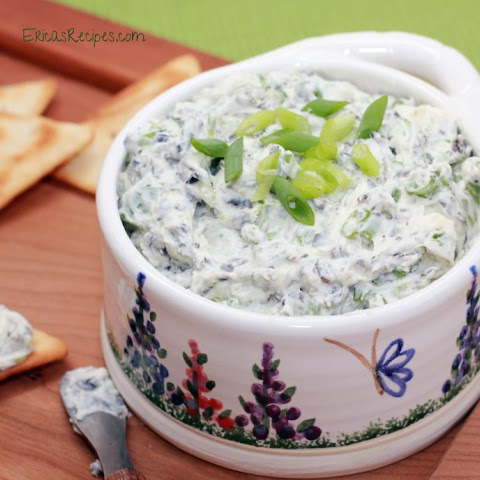 Scallion Olive Dip