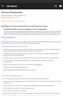 Free Indeed Job Search APK for Windows 8