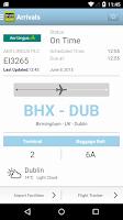 Screenshot of Dublin Airport