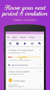Period & Ovulation Tracker APK Descargar