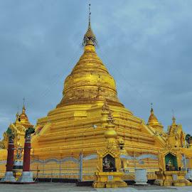 Kuthodaw Pagoda by Tomasz Budziak - Buildings & Architecture Public & Historical ( myanmar, asia, architecture, burma,  )