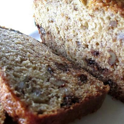 Banana- Honey Chocolate Chip Bread