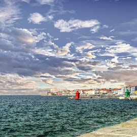 Pirans landscape by Michel Andries - Landscapes Travel ( clear, piran, hdr, slovenia, landscape )