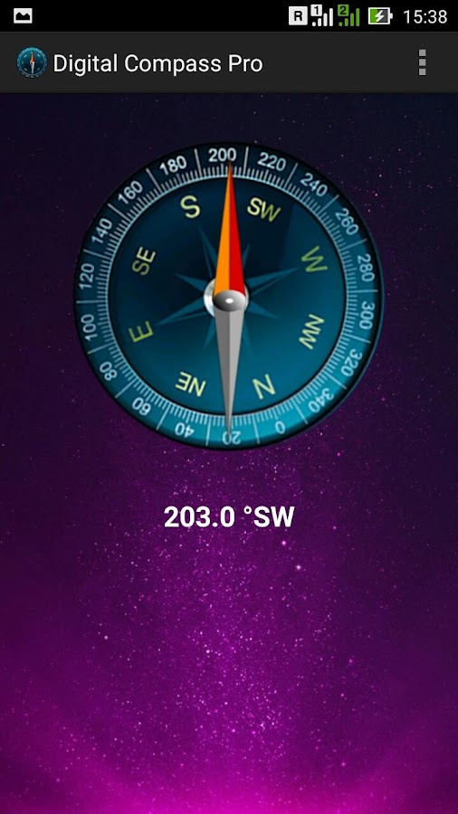 Digital Compass Pro Screenshot 4
