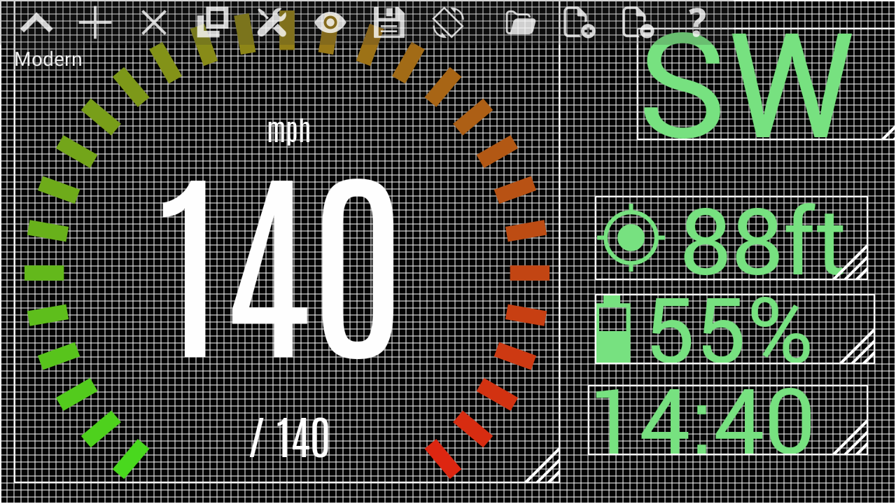 Custom HUD Speedometer Pro Screenshot 0
