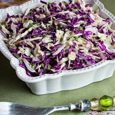 Ridiculously Easy Blue Cheese Coleslaw