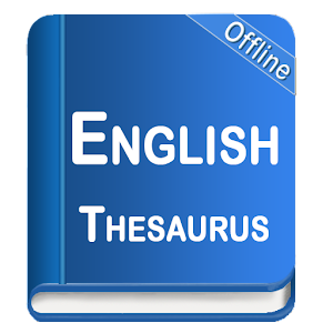 Its offline and free, contains 300,000 words:  Type Definition Antonym & Synonym APK Icon
