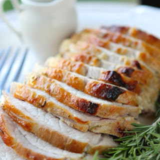 Rosemary Maple Mustard Pork Roast