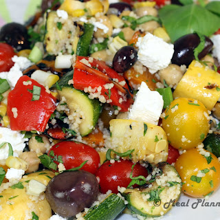 Grilled Vegetable 'n Couscous Salad