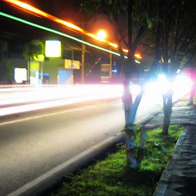 street lights by Luther Lumentah - City,  Street & Park  Street Scenes