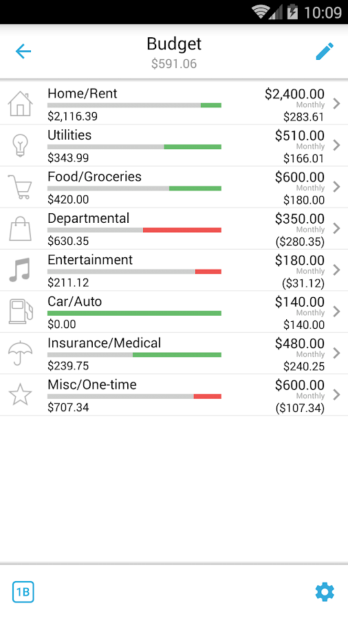 Home Budget with Sync Screenshot 6