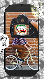 9 Troll Face Photo Montage Free App screenshot
