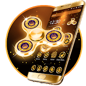 App Golden Fidget Spinner Theme APK for Windows Phone