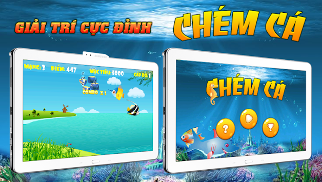 Fish guillotine apk 1 1 2 free casual games for android for Fish for money app