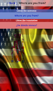 Usa Spain Spanish English - screenshot