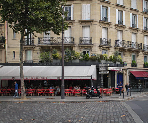 Restaurants and Cafes in Eiffel Tower