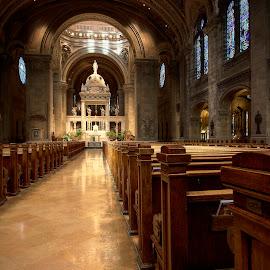 Faith Walk by Darin Luehrs - Buildings & Architecture Places of Worship ( minnesota, church, faith, worship, basilica )