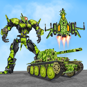 US Army Robot Transformation Jet Robo Car Tank War For PC / Windows 7/8/10 / Mac – Free Download