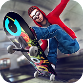 Download Subway Skateboard Ride Tricks APK on PC