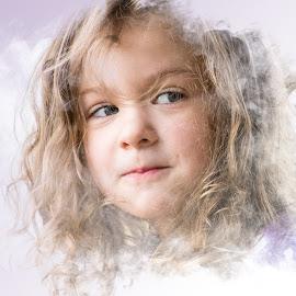 Look by Todd Wallarab - Babies & Children Children Candids ( child, girl, granddaughter, children, baby )